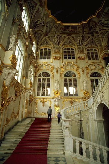 18 Hermitage Staircase - St Petersburg, Russia by travel