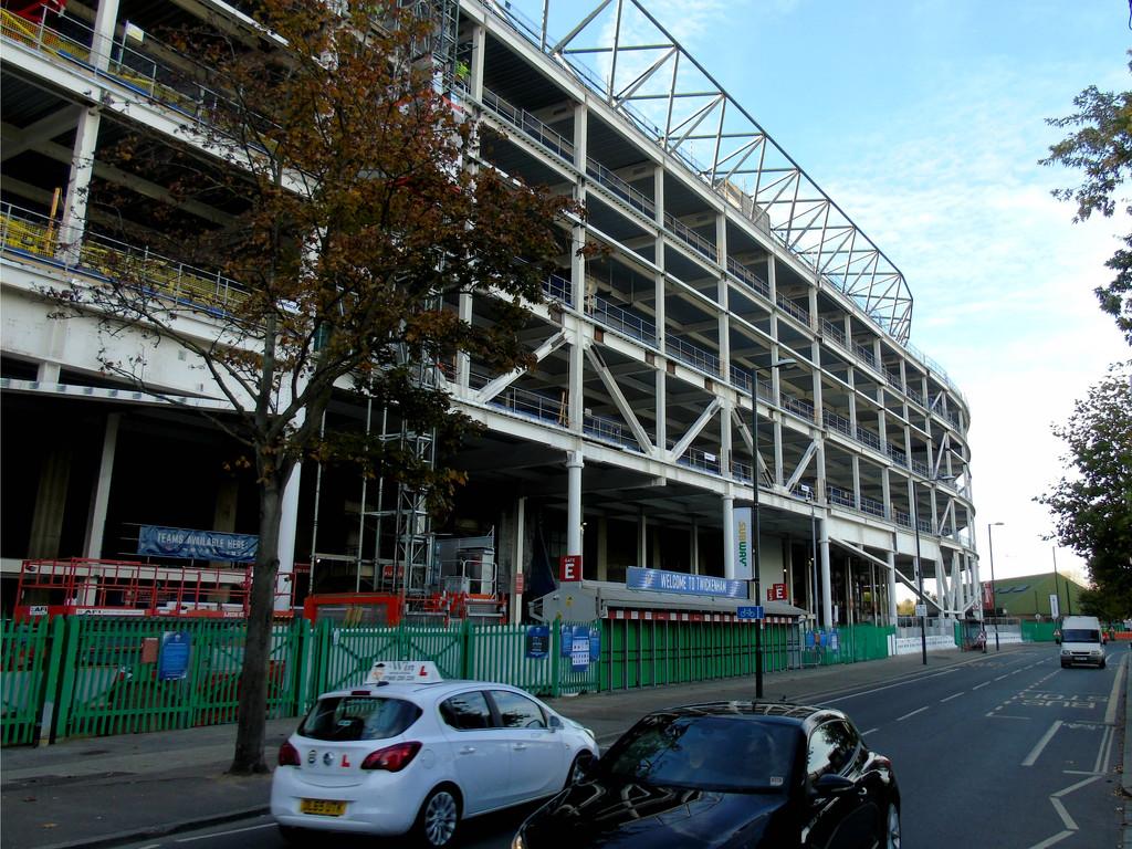 Twickenham East Stand by bulldog
