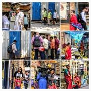 2nd Nov 2017 - People in Gowalia tank streets