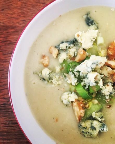 Cauliflower & Blue Cheese Soup by cookingkaren