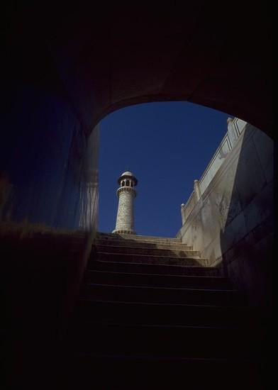 34 Taj Mahal Detail - Agra, India by travel