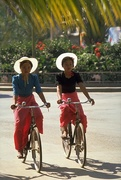 5th Dec 2017 - 35 Dai Girl Cyclists in Xishuangbanna, China