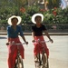 35 Dai Girl Cyclists in Xishuangbanna, China
