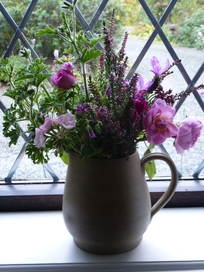 Flowers from the garden... by snowy