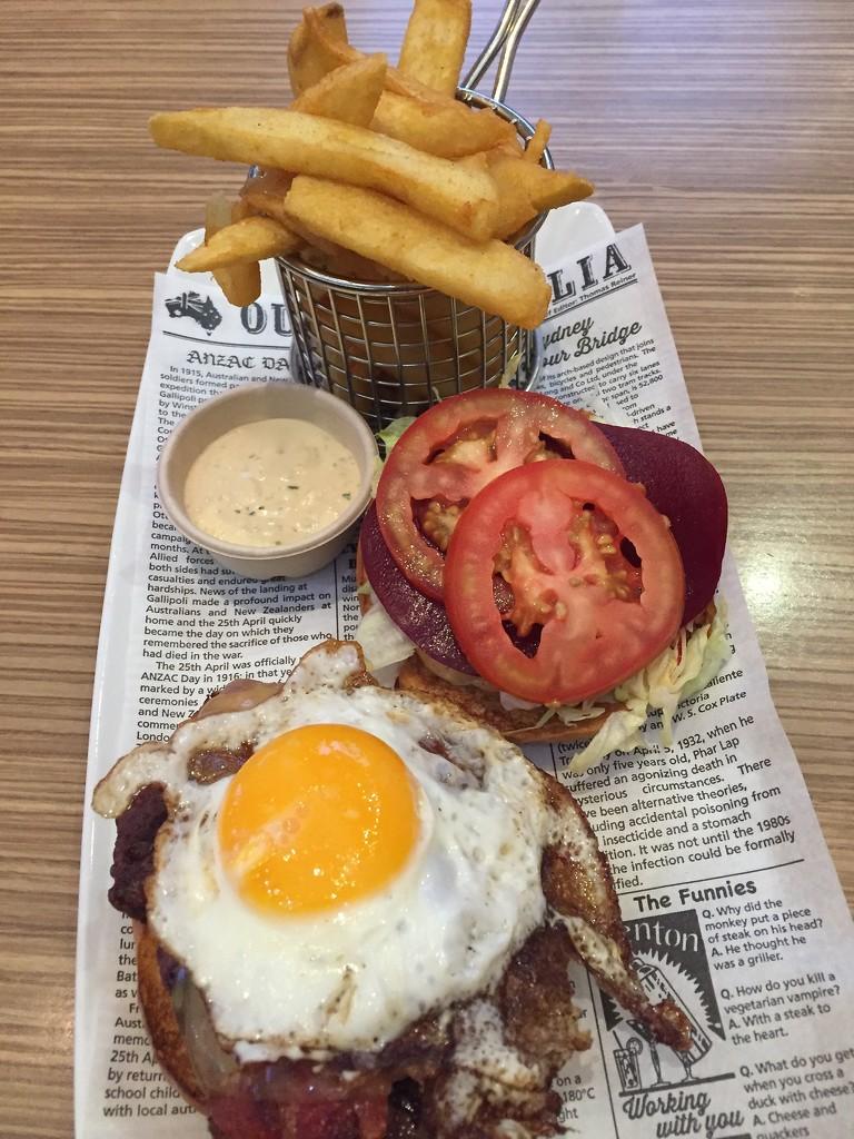 Burger by kjarn