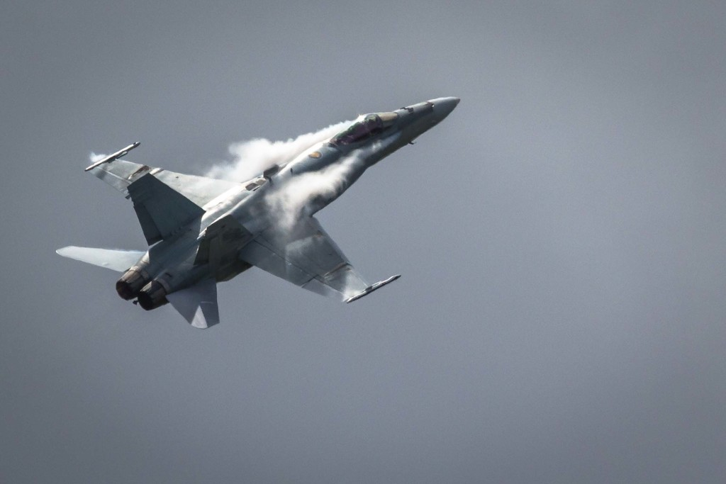 F/A-18 Hornet by pusspup