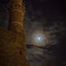 Mosque, Moon, and Cat by jyokota
