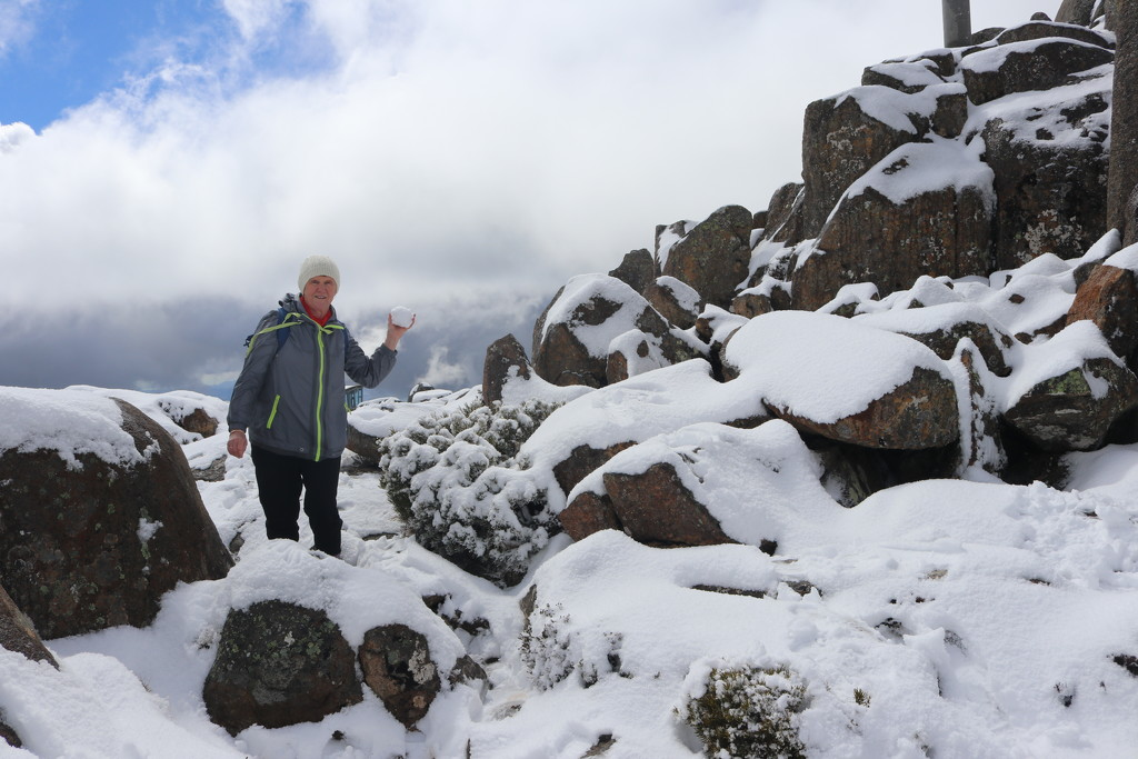 Tasmania holiday 2 - snow!  by gilbertwood