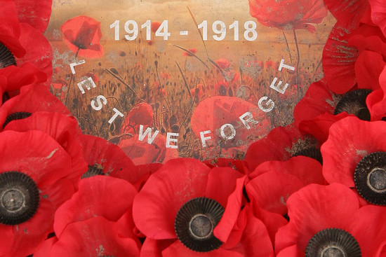 38 Lest We Forget - 1914-1918 by travel