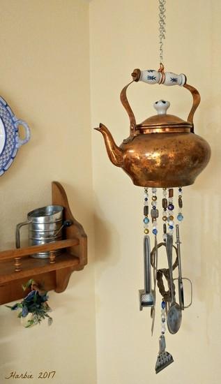 My Teapot Windchime by harbie