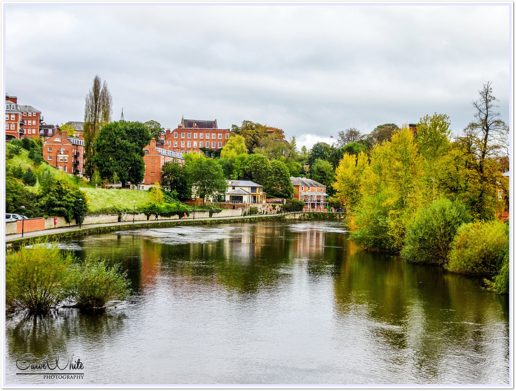 The River Severn,Shrewsbury by carolmw