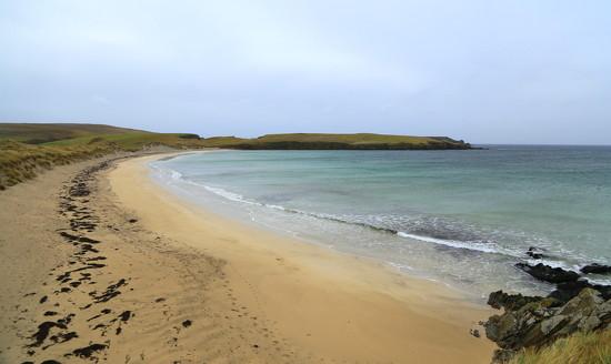 Spiggie Beach by lifeat60degrees