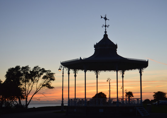 Bandstand at Sunset by fbailey