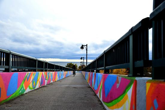 pedestrian bridge by summerfield