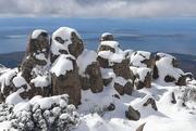 2nd Nov 2017 - Snow capped rocks