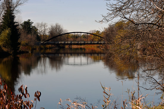 November Words - Bridge by farmreporter