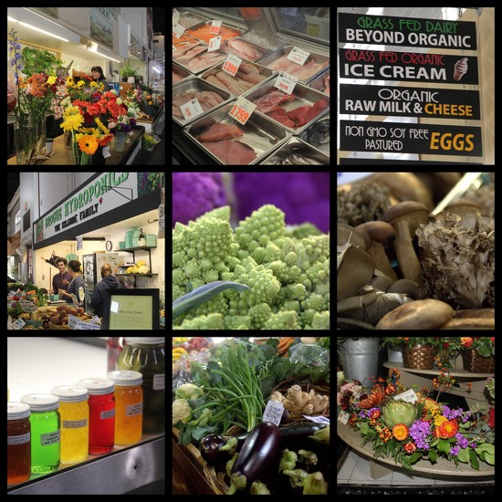 Lancaster Central Market Collage  by calm