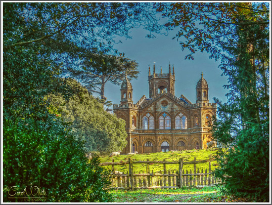 The Gothic Temple,Stowe Gardens by carolmw