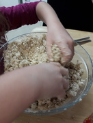 9th Nov 2017 - Mushing  Cookie Dough