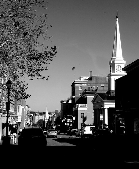 Downtown Lexington by calm