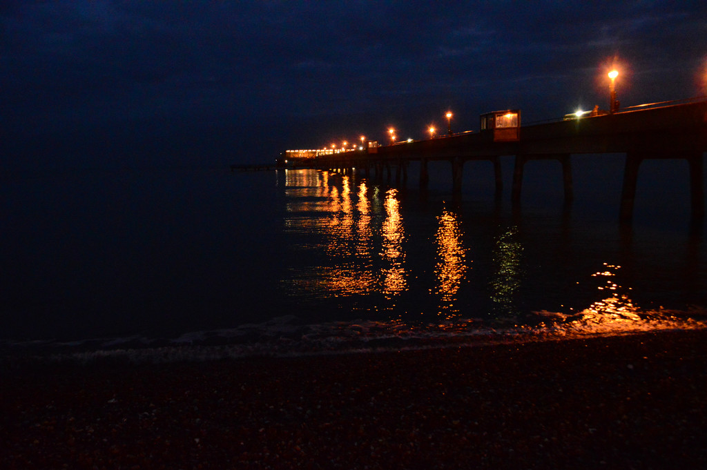 Pier lights by fbailey