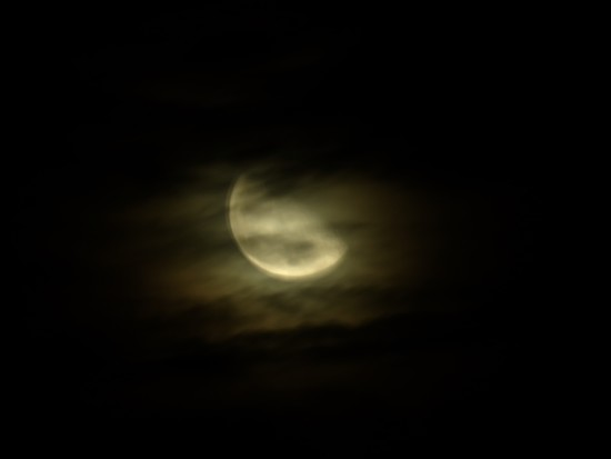 Cloudy Moon by phil_sandford