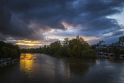 22nd Oct 2017 - Day 295, Year 5 - Sunday Sundown On The Thames
