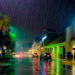 I love a rainy night by danette