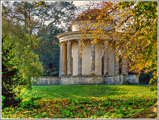 The Temple Of Ancient Virtue, Stowe Gardens by carolmw