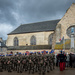 Armistice Day Parade at Paimpont Abbey