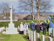12th Nov 2017 - Rememberence service
