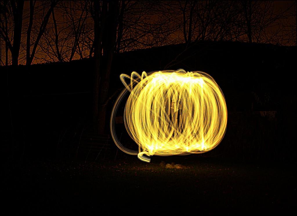 Pumpkin Light by olivetreeann