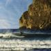 Surfing By Haystack Rock