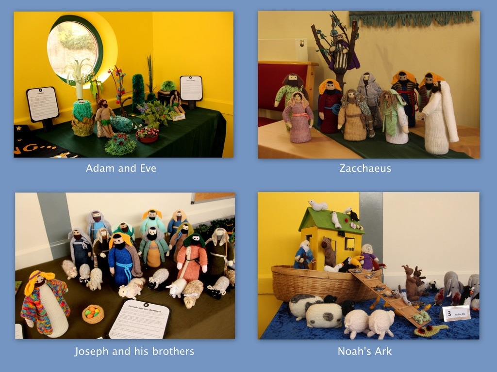 Scenes from the knitted Bible by busylady