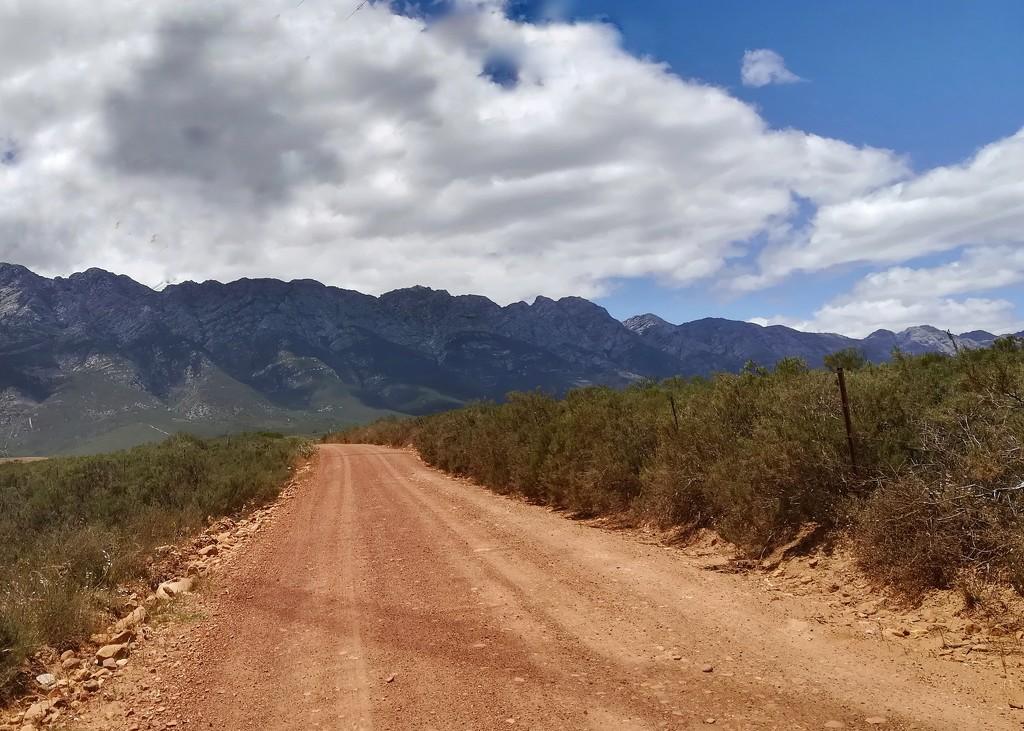 Towards the mountain  by salza