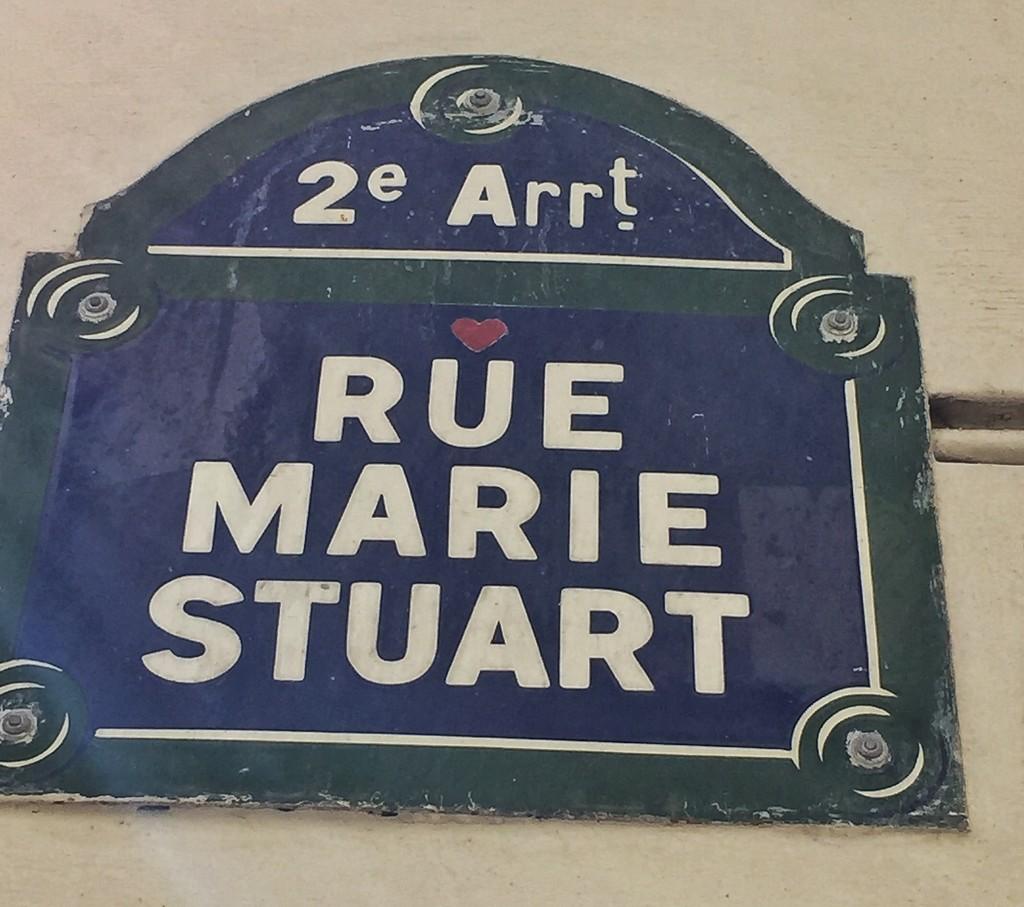 Rue Marie Stu-heart.  by cocobella