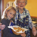 Making scones with Gran