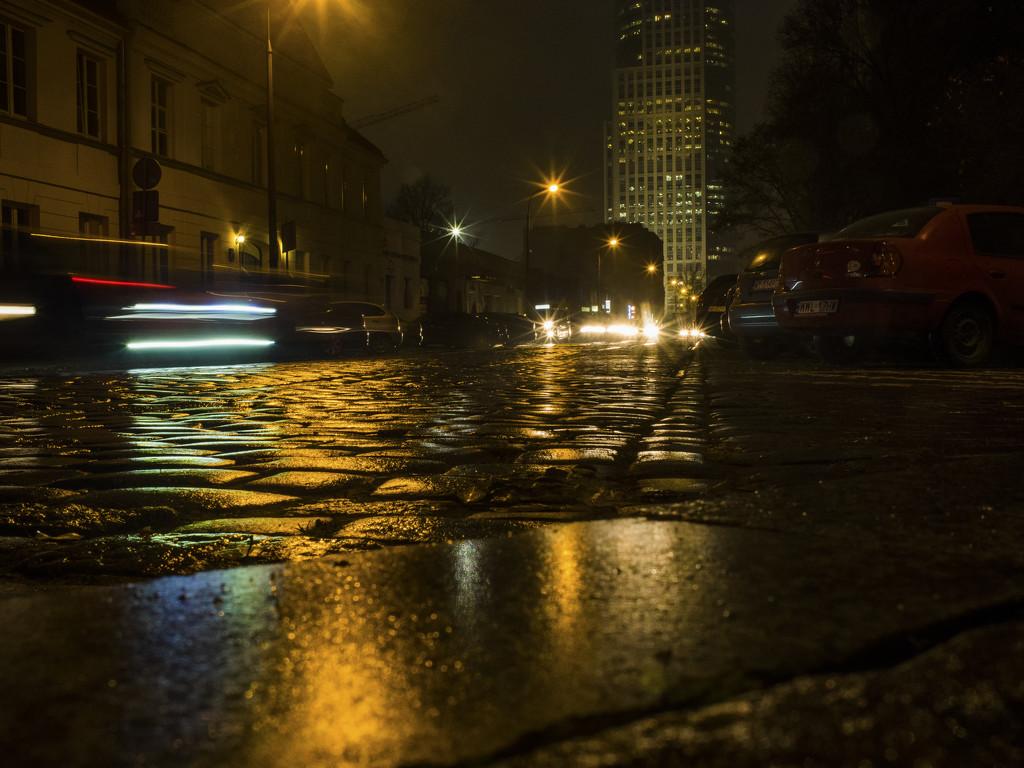 In the rain by haskar
