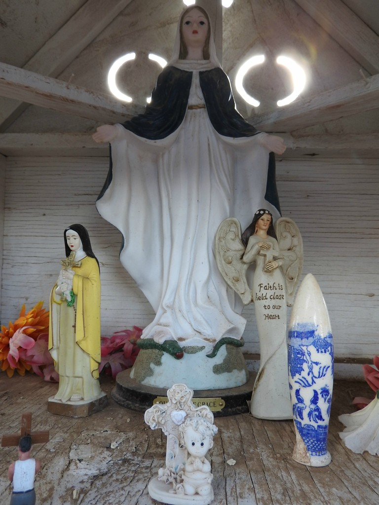 Inside the Shrine by janeandcharlie