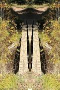 18th Nov 2017 - Mirrored Footbridge