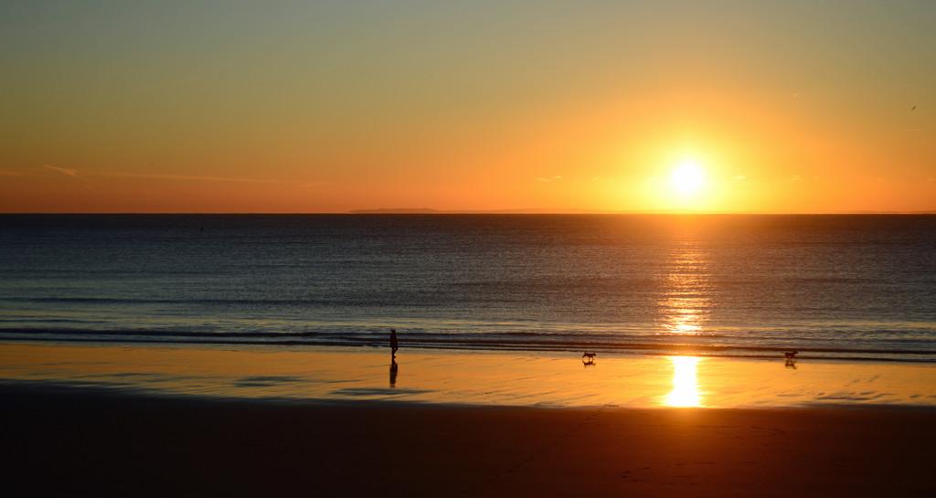 Sunny Sands Sunrise by fbailey