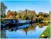 19th Nov 2017 - The Grand Union Canal,Stoke Bruerne