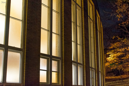 Windows at night by novab