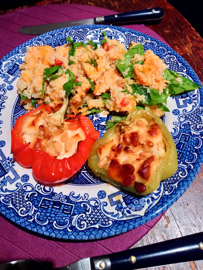 Peppers and quinoa by boxplayer