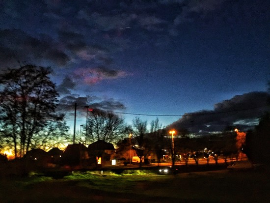 rainbow by night.  by cocobella