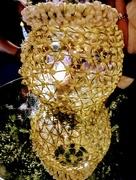 18th Nov 2017 - Jasmine flowers on the lamp