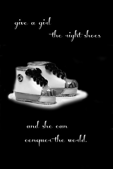 give a girl the right shoes by summerfield