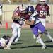 Football Playoff collision