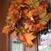 Wreath on the door