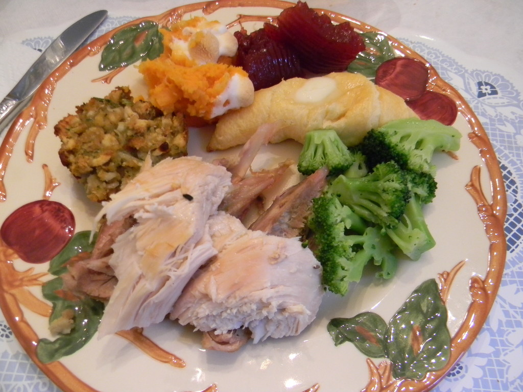 Thanksgiving Meal by sfeldphotos